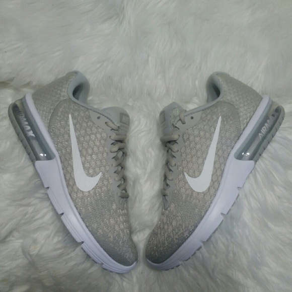 best sneakers 8973f 77e38 New Nike Air Max Sequent 2 Grey Tan Sneakers